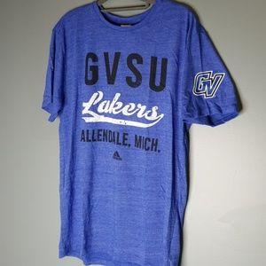 GVSU Lakers Allendale Michigan Adidad Tee Graphic